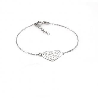 Bracelet Carador Coeur argent 925/000e 103BK155W