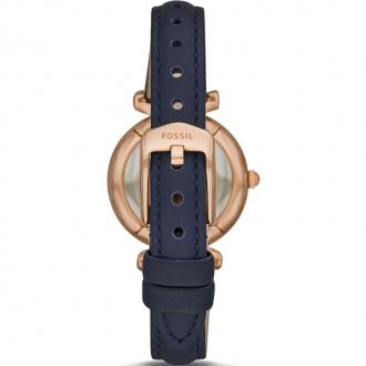 Montre FOSSIL ES 4502 Femme cuir bleu marine