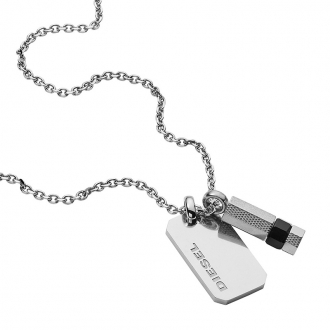 Collier et pendentif Diesel Bijoux DX1156040