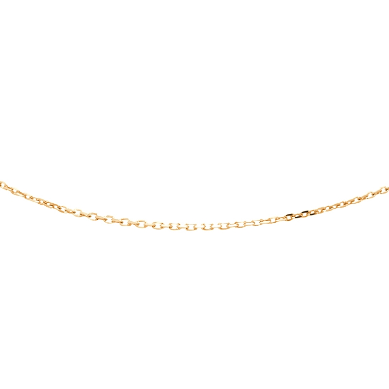 Chaine Carador en or jaune 375/000