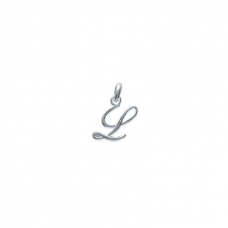 Pendentif initiale lettre L en argent 925/000. 748115512 -Carador