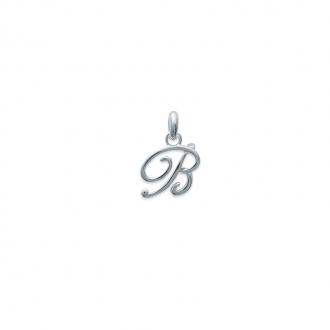 Pendentif initiale lettre B en argent 925/000 74811552 Carador