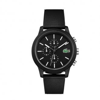 Montre LACOSTE homme et son bracelet en silicone noir 2010972