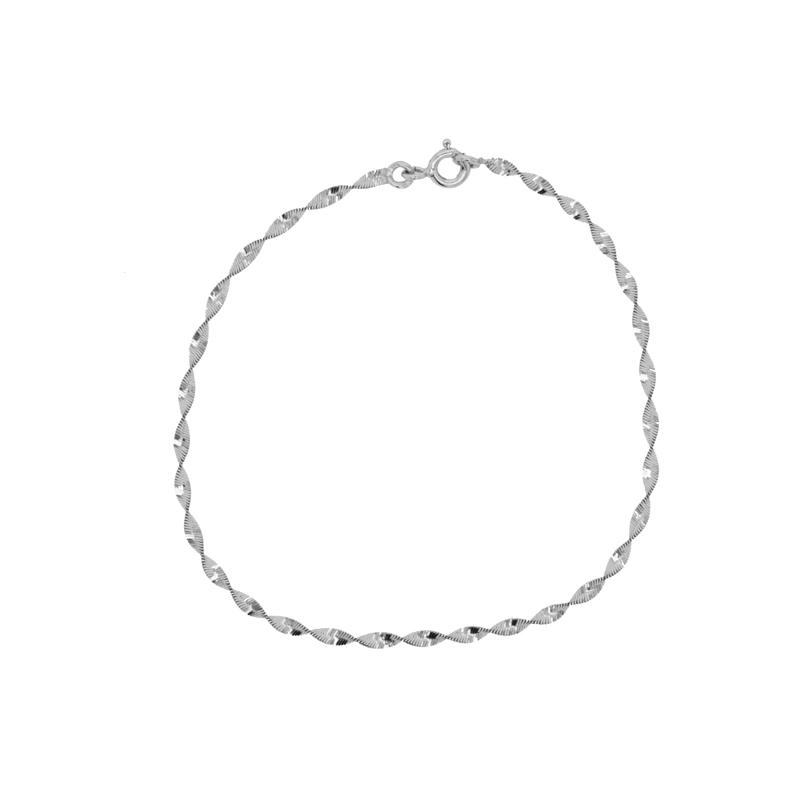 bracelet femme or blanc