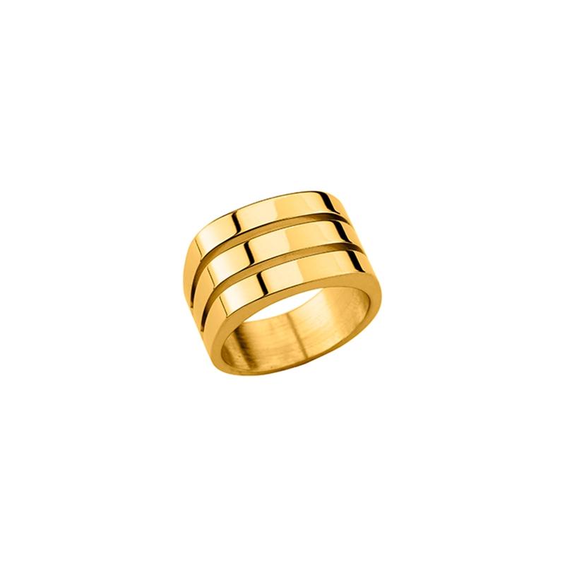 bague or trois anneaux