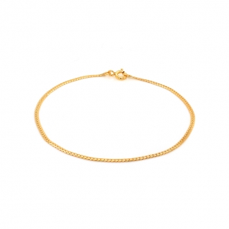 Bracelet Carador or 375/000 herringbone 1.65mm 024981CNJ18