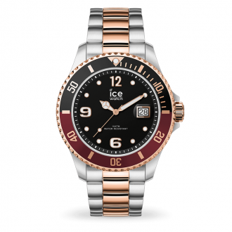 Montre Ice-Watch ICE Steel Chic silver rose-gold medium 016546