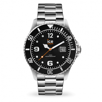 Montre Ice-Watch ICE Steel Black silver Large 016032