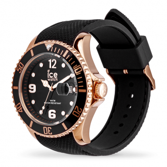 Montre Ice-Watch ICE Steel Black rose-gold Large 016766