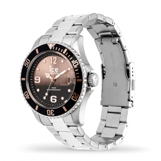 Montre Ice-Watch ICE Steel Black sunset silver Medium 016768