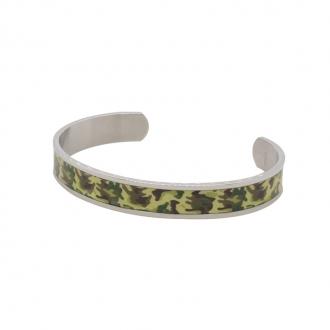 Bracelet carador style militaire en acier inoxydable