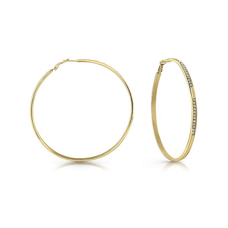 Boucles d'oreilles créoles GUESS UBE78090
