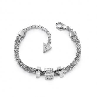 Bracelet Guess Love knot métal argenté UBB78058-S