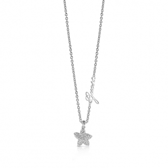 Collier Guess Starfish argenté UBN78005