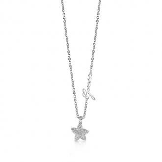 Collier Guess Starfish argenté UBN78005