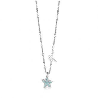 Collier Guess Starfish argenté UBN78003