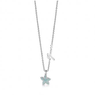 Collier Guess Starfish argenté UBN78003