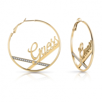 Boucles d'oreilles Guess Round&Round UBE78077