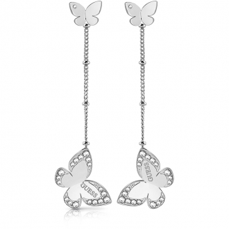 Boucles d'oreilles Guess Love Butterfly UBE78016