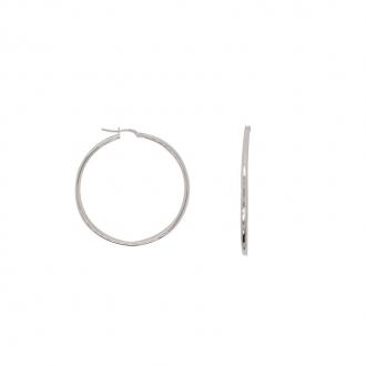 Boucles d'oreilles créoles or 750/000 45mm CARADOR