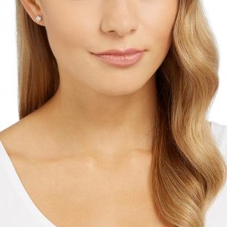 Boucles d'oreilles Swarovski Attract Pearl métal rhodié 5183618