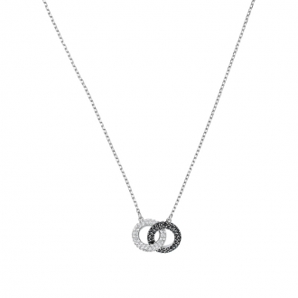 Collier Swarovski Stone métal rhodié 5445706