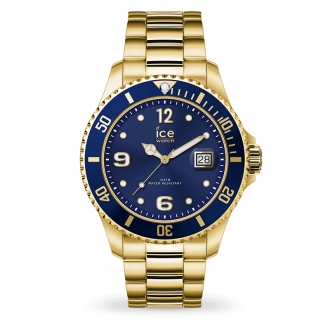 Montre Ice-Watch ICE Steel Gold blue Large 016762