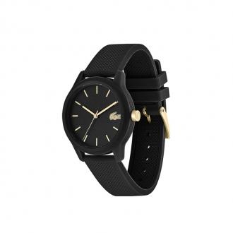 Montre femme Lacoste bracelet silicone noir 2001064