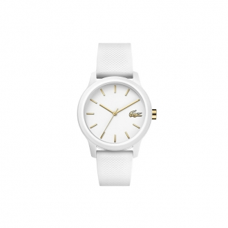Montre femme Lacoste bracelet silicone blanc 2001063