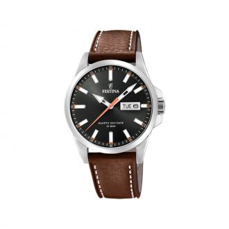 Montre Homme Festina Classics cuir marron F20358/2