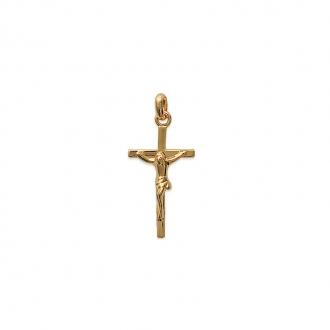 Pendentif Carador Croix en plaqué or