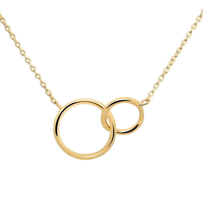 collier femme fin or