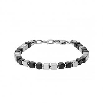 Bracelet homme Fossil acier JF03123040