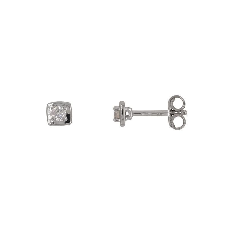 Carador - Boucles d'oreilles OR 750/000 et Diamant