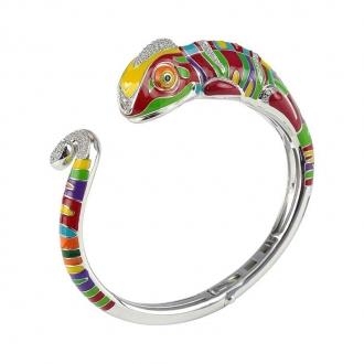 Bracelet Jonc Una Storia Caméléon multicolore JO121180