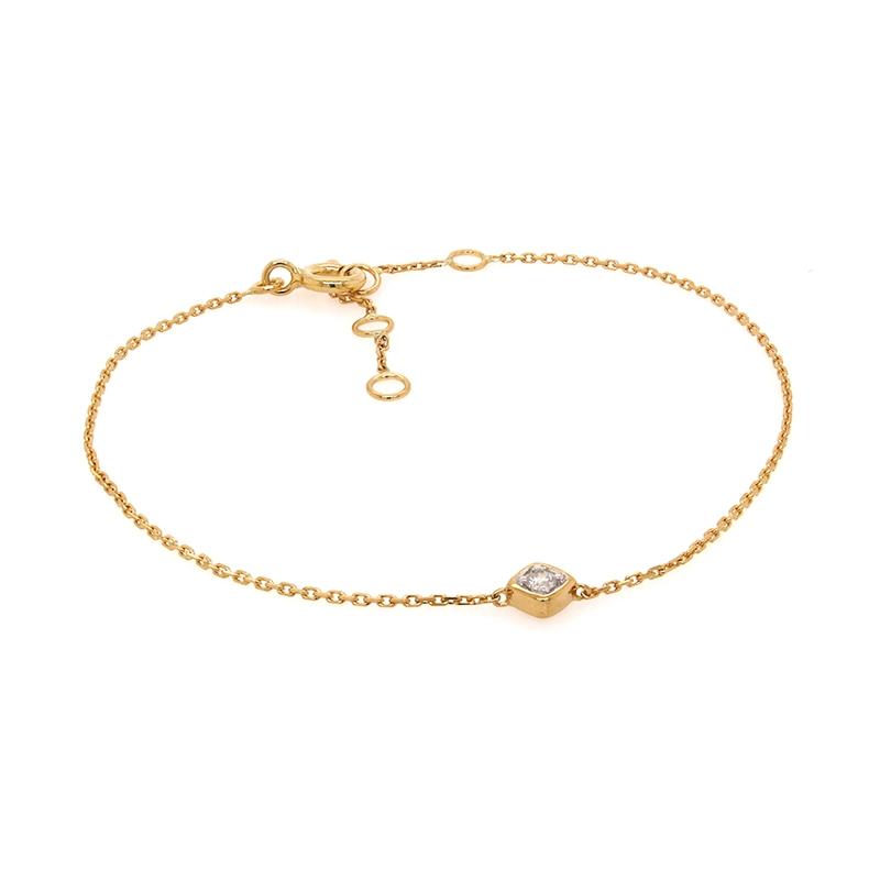 Bracelet Carador Femme en Or jaune 750/000 et diamant