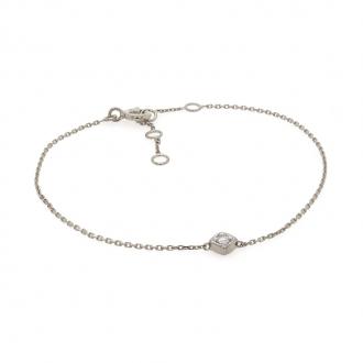 Bracelet Carador Or Blanc 750/000 diamant