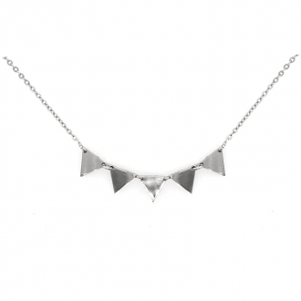 Collier triangle Silver Pop en argent 925/000