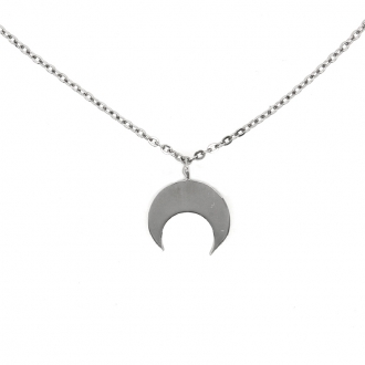 Collier Constellation Silver Pop Lune en argent 925/000