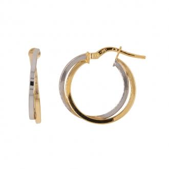 Boucles d'oreilles Carador Créoles Or 375/000