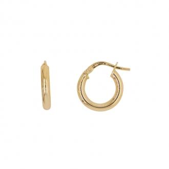 Boucles d'oreille Carador Créoles Femme Or 375/000