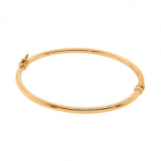 Bracelet jonc en jaune 750/000 jaune CARADOR
