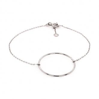 Bracelet en or blanc 750/000 CARADOR
