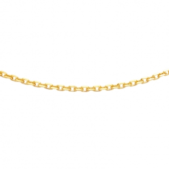 Collier Carador Or jaune 375/000 50 cm