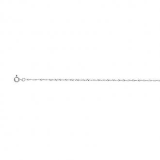 Chaîne de cheville CARADOR or blanc 750/000