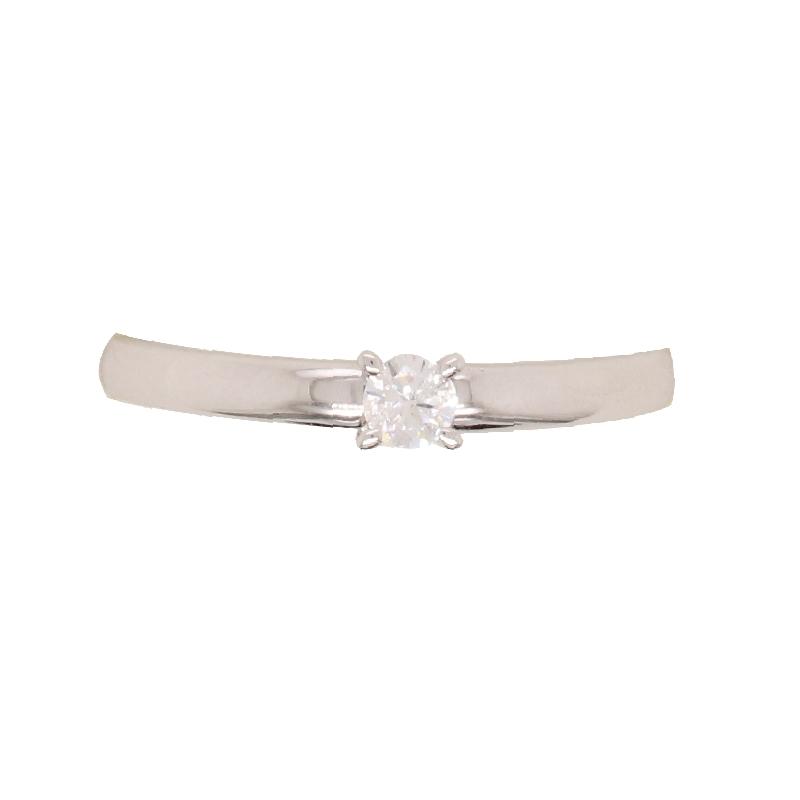 Bague Carador Or blanc 750/000 et Diamant 0.12G