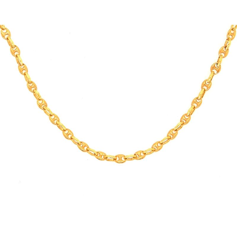 collier or jaune
