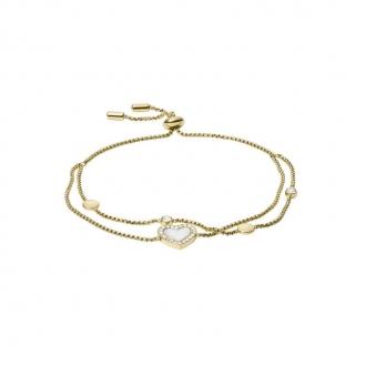 Bracelet souple en acier doré FOSSIL JF03216710