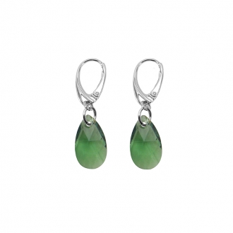 Boucles d'oreilles Indicolite Larme cristal vert DO-LARM-360