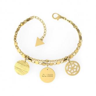 Bracelet PEONY ART Guess en acier doré UBB29111-S